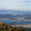 A View of Hobart from Mount Wellington