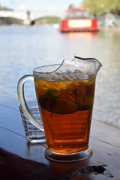 Big pitcher of Pimm's Cup