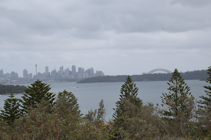 Look back to downtown Sydney from Watson's Bay