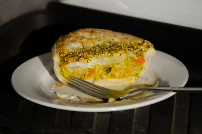 Vegetable Curry Pie