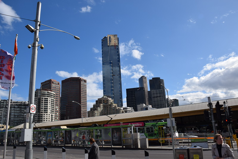 Melbourne has a great tram system downtown-- makes it easy to get around.