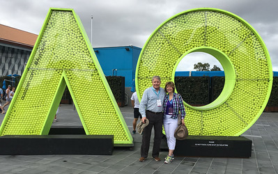First day at the Australian Open