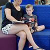 Reading at the library