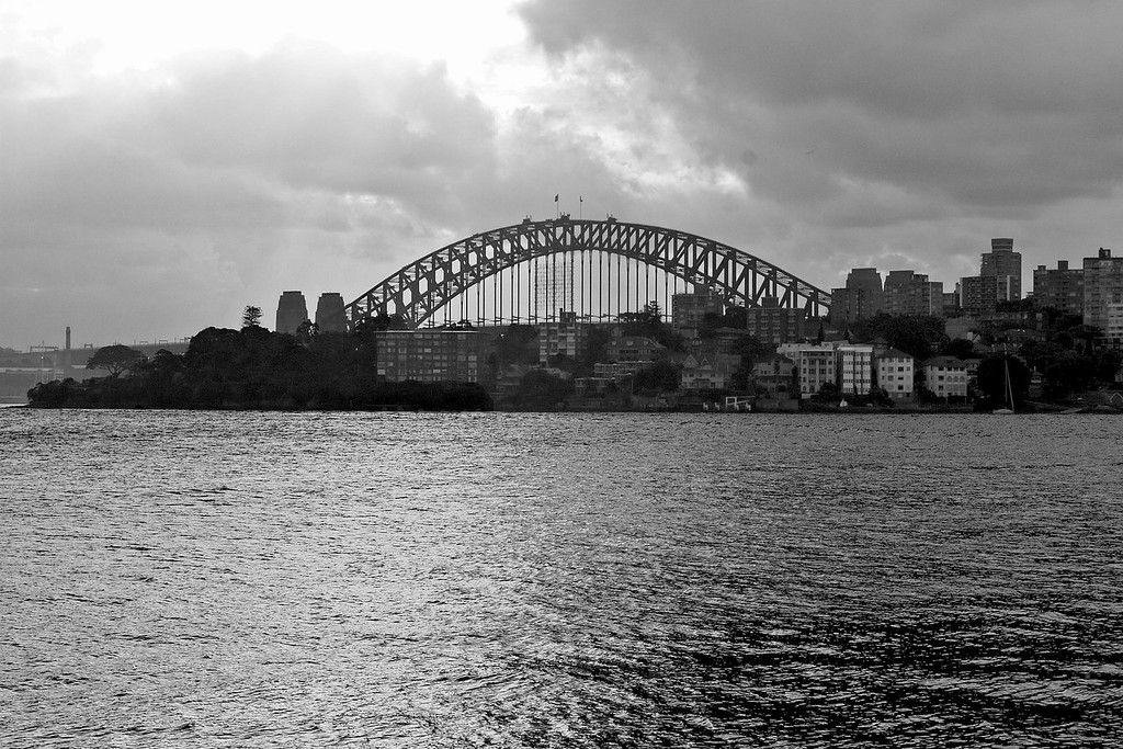 Sydney Harbour Bridge from Neutral Bay