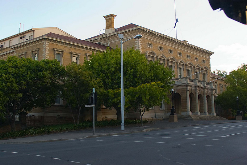 I believe that this building is Parlament House in Hobart Tasmania