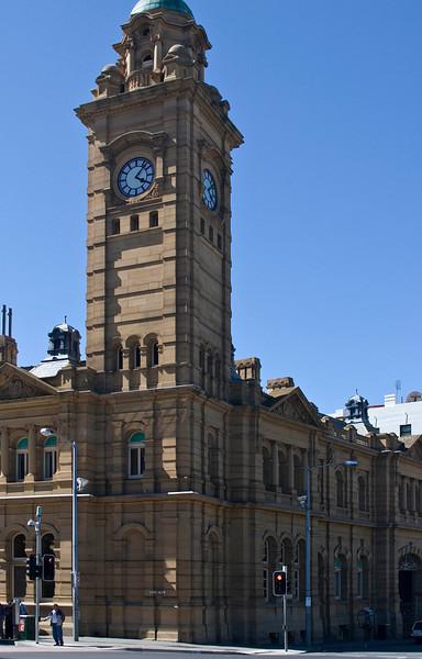 Downtown Hobart Tasmania, AU