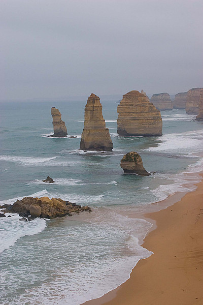 The twelve appostoles (really only about nine now).  Taken on the Great Ocean Highway