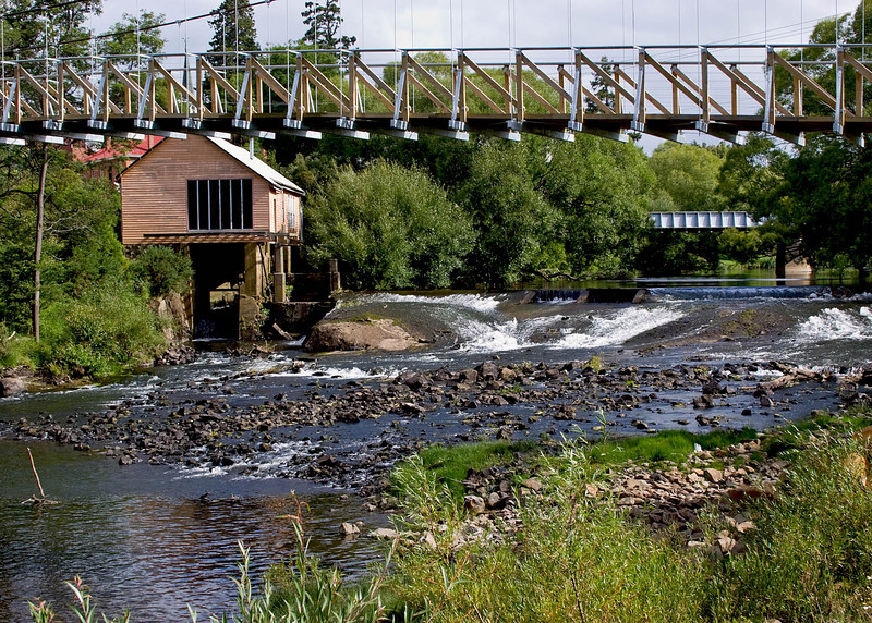 Deloraine, north central Tasmania.  We stopped to have lunch there.