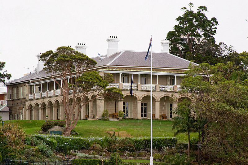 Admiralty House. Admiralty House is the official Sydney residence of the Governor-General of Australia.
