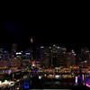 The view of Darling Harbor in Sydney from our hotel window.
