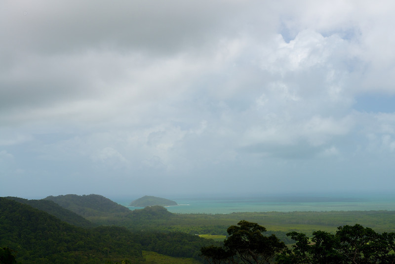The north Queensland coast is verdant.