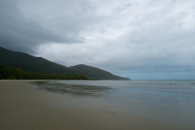 Miles of empty beach.