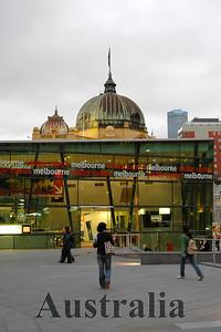 Melbourne Visitor Centre, Melbourne, Australia.