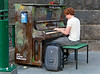 """""""Play me, I'm yours"""" is a special program for cities to participate. You can find these pianos around Melbourne for anyone to practice."""