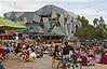 Federation Square, a meeting place.