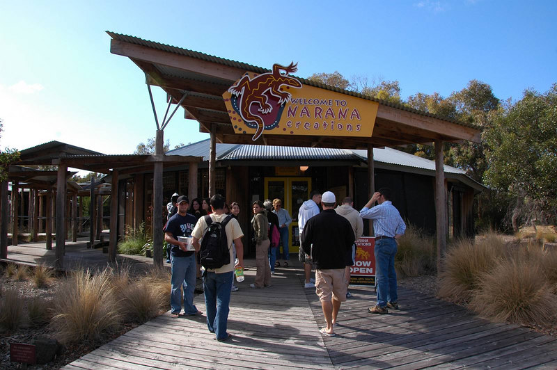 First stop on the Great Ocean Road day tour was the Aboriginal Cultural Centre.