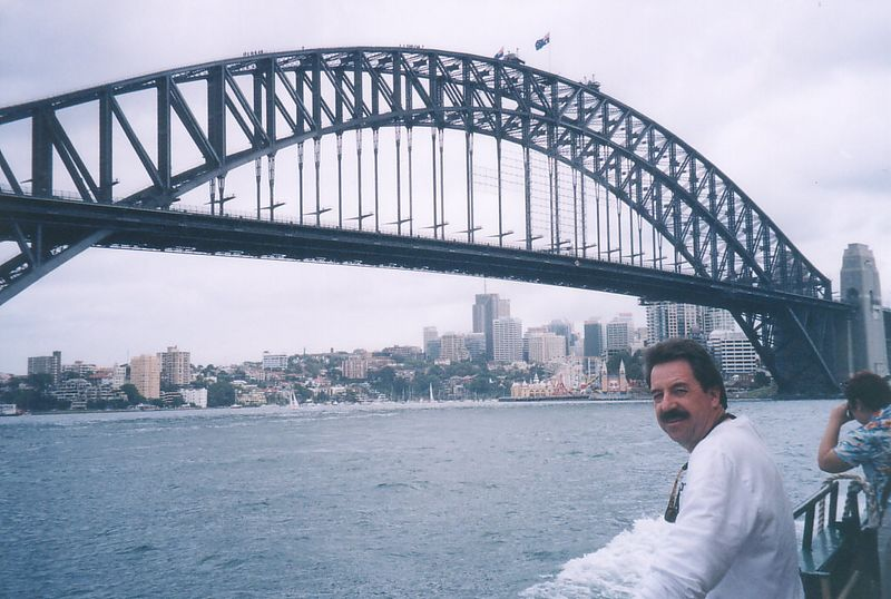 """Our Down Under Adventure began in Sydney where we enjoyed a boat tour of its beautiful harbor.  For access to our daily journals of this trip go to: <a href=""""http://www.danny-pam.freewebsitehosting.com/aust2001/au-c0.html"""">http://www.danny-pam.freewebsitehosting.com/aust2001/au-c0.html</a>"""