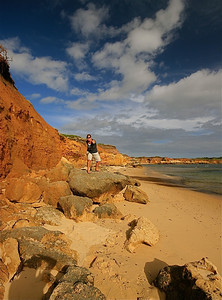 Wild Dog Cove, Bay of Islands Coastal Park, Great Ocean Road. Victoria, Australië.