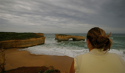 London Bridge, Loch Ard Gorge, Great Ocean Road. Victoria, Australië.