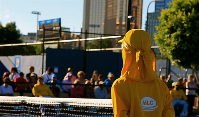 Ballenjongen. Australian Open 2011, Melbourne. Victoria, Australië.