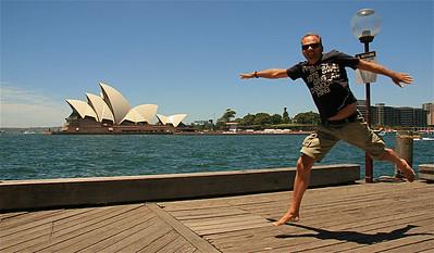 Sydney Opera House. Sydney, NSW, Australië.