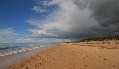 90 Mile Beach. Victoria, Australië.
