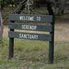 Serendip Sanctuary -- unfenced and very large.  Many pictures of birds and kangaroos follow.