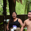 Maori dance demonstration at the Kiwi grove.