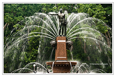 Archibald Fountain in Hyde Park Sydney Australia