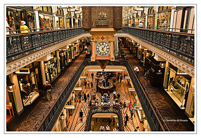 Queen Victoria Building - Shopping Center Sydney