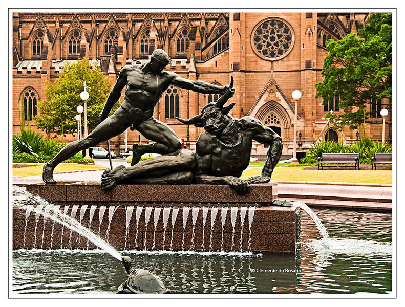 Archibald Fountain in Hyde Park Sydney Australia