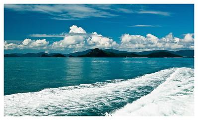 Cruising Whitsundays Islands Queensland Australia