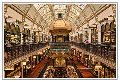 Queen Victoria Building - Shopping Center Sydney, Australia