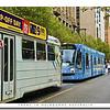 Public Transit Trams in Melbourne,Victoria, Australia