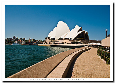 Sydney's iconic Opera House  is a short walk along the Circular Quay