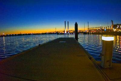 Melbourne Quay at Dusk, February 2007