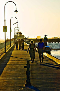 St. Kilda Beach Boardwalk, Melbourne