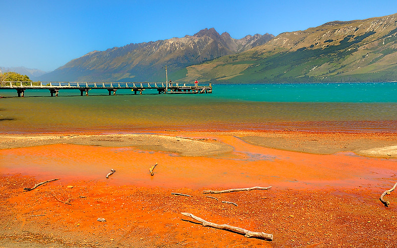 Lake Wakatipu Glenorchy South Island New Zealand