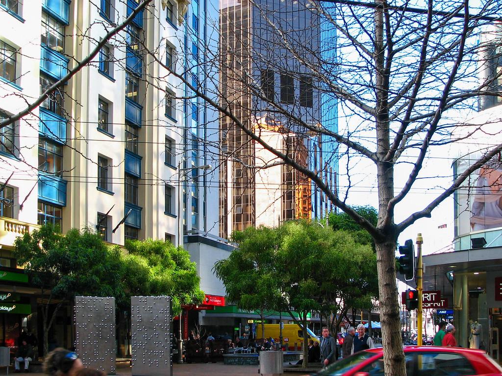 Downtown Wellington.