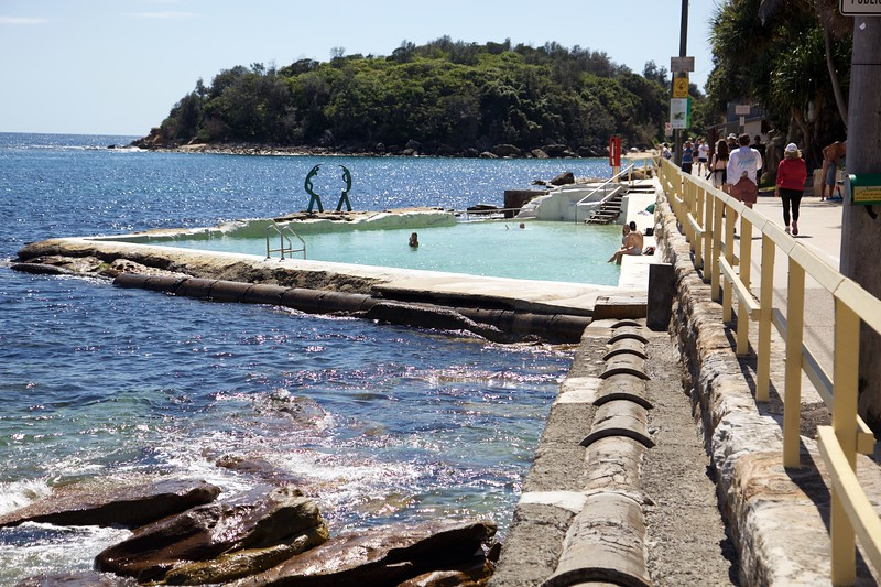 Ocean pool in Manly