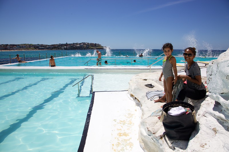 """""""Iceberg"""" - salt water pools at Bondi Beach"""