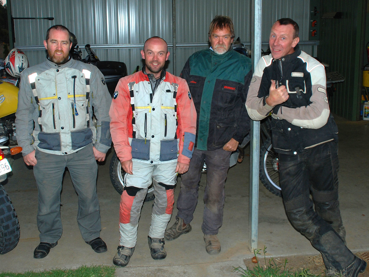 Trevor, Adam, Graeme, Tim @ Dave's, Victoria