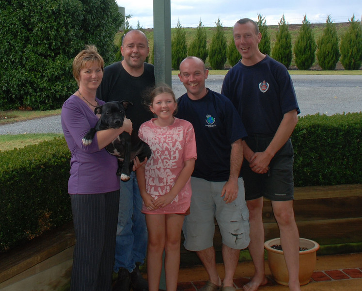 Leonie, Dave, Chelsea, Adam & Tim. Warragul, NSW