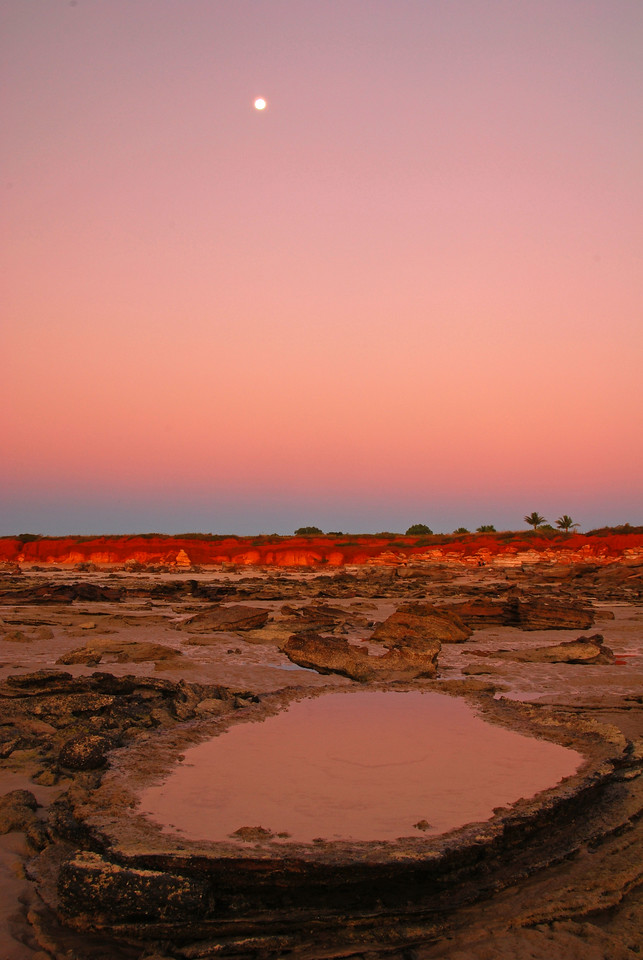 Sunset,  Gantheaume Point,  Broome,  WA