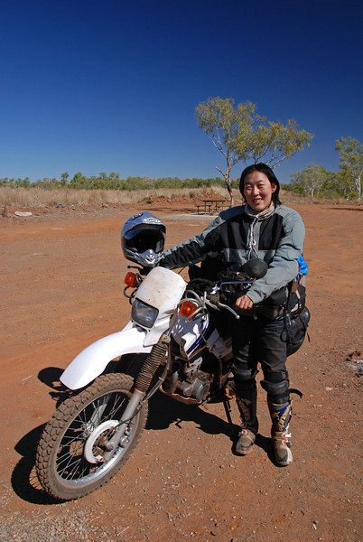 'Papi' from Japan. Jn Highway 1 & Purnululu NP track