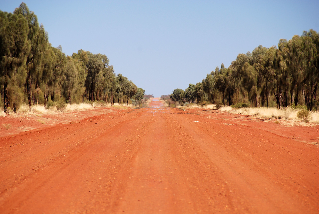 The Great Central Road,  NT - WA