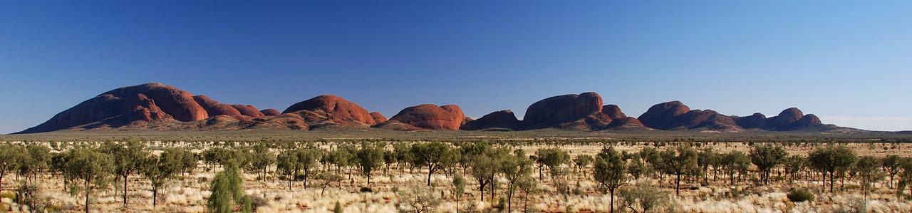 Kata Tjuta (The Olgas),  Uluru NP,  NT