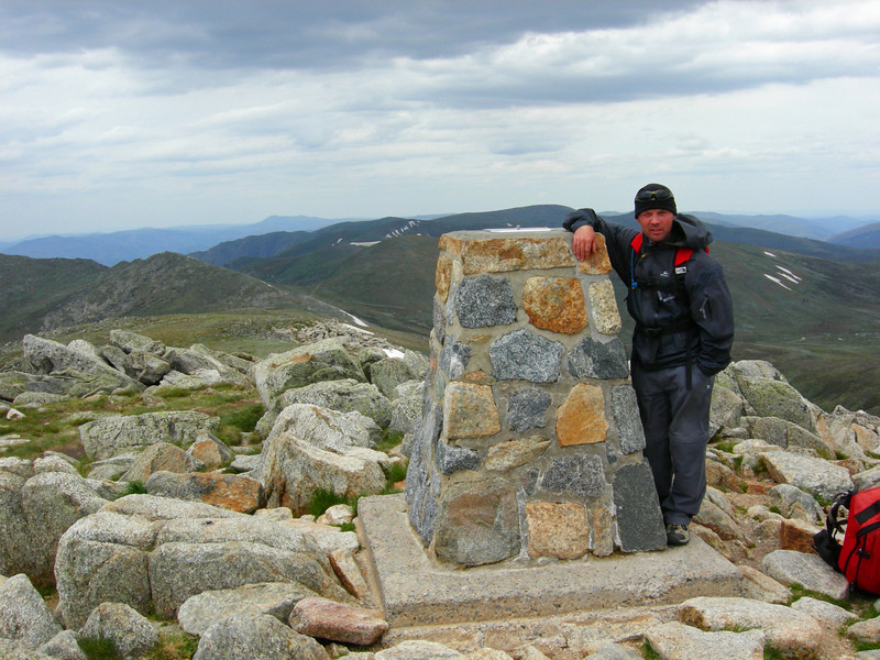 Highest point in Australia, Kosciuszko NP