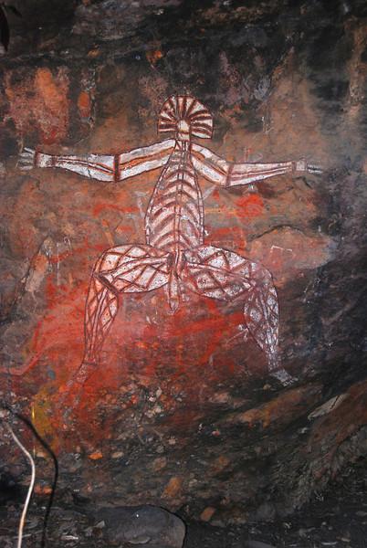 Aboriginal Art.  Ubir.  Kakadu NP,  NT