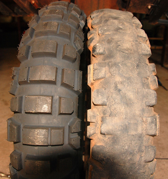Michelin T63'3. New & 13,500km